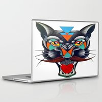 panther Laptop & iPad Skins featuring panther by Ronan Holdsworth