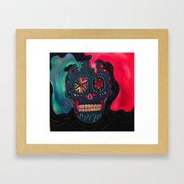 Cordelia's Skull Framed Art Print