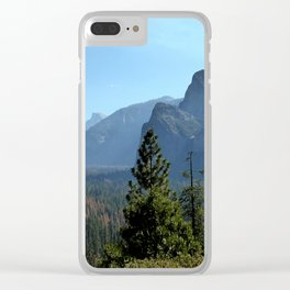 Yosemite national park scenery photo Clear iPhone Case