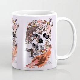 Birds, butterfly and Sugar Skull Coffee Mug