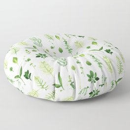 Leaves Floor Pillow
