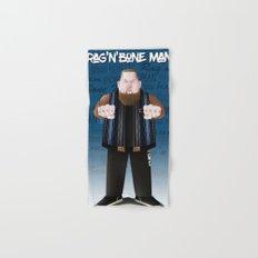 Rag'N'Bone Man caricature Hand & Bath Towel