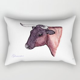 Gloucester | English cow Rectangular Pillow