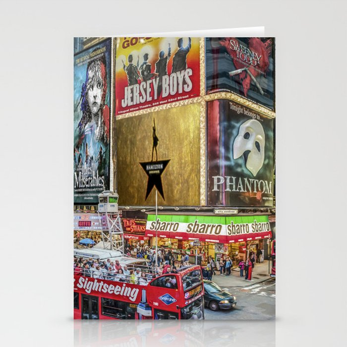 Times Square II Special Edition I Stationery Cards