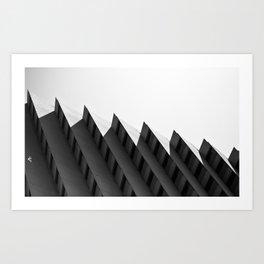 Step Building Art Print