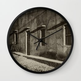 Old Building Wall Clock