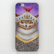 Knight Owl iPhone & iPod Skin