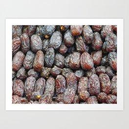 dates texture Art Print