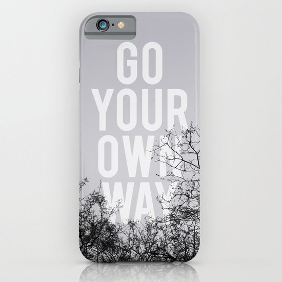 Go Your Own Way II iPhone & iPod Case