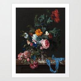 Still Life Floral #1 Art Print