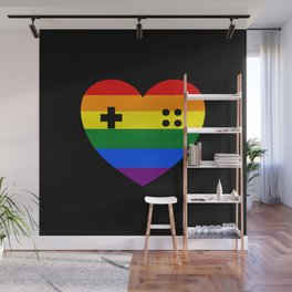 Rainbow Gamer Wall Mural
