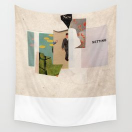 new setting Wall Tapestry