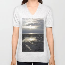Stony beach Unisex V-Neck