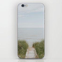 Lake Michigan Boardwalk iPhone Skin