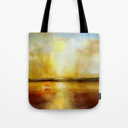 Anchored for the night Tote Bag