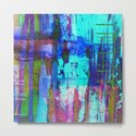 Electric Abstract - Textured, painting by printpix
