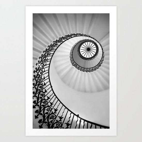 Ammonite Art Print