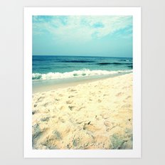 Gentle Surf Art Print