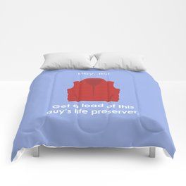 Back to the Future - Life Preserver Comforters