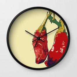 Chillis (y) Wall Clock