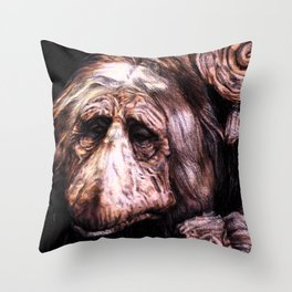 A Mystic from Dark Crystal Throw Pillow