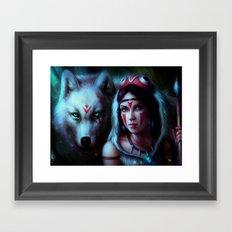 Mononoke Night Framed Art Print