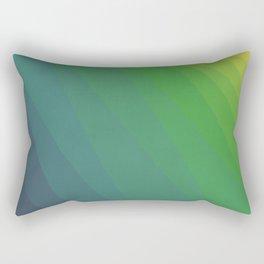 Shades of Deep Water Rectangular Pillow