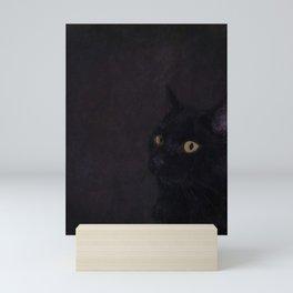 Black Cat - Prince Of Darkness Mini Art Print