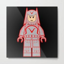 Sark Lego Metal Print
