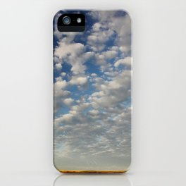 Mid Morning Sky iPhone Case