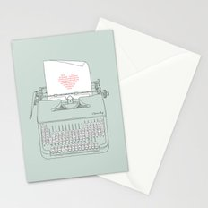 The Chemistry of Love Stationery Cards