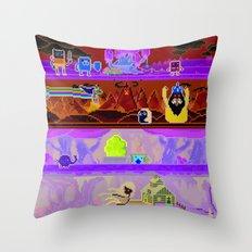 Adventure Game Throw Pillow