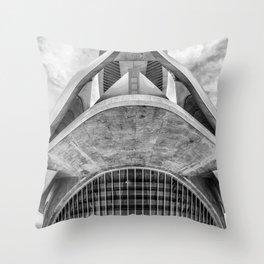 City of Arts and Sciences V | C A L A T R A V A | architect | Throw Pillow
