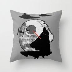 Darth Vader Moonglow Throw Pillow