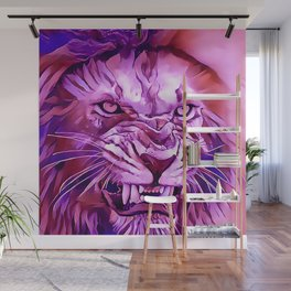 Lion - King of The Beasts Wall Mural