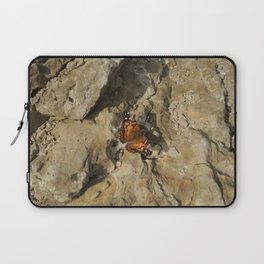 Butterfly on the mountain top Laptop Sleeve