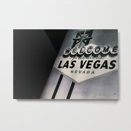 High in Las Vegas Metal Print