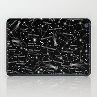 constellations iPad Cases featuring Constellations  by Cosmic Drifters