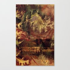 There is a Mountain Canvas Print