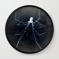 alien Wall Clocks featuring ALIEN by  Agostino Lo Coco