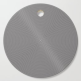 op art - circles Cutting Board