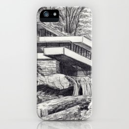 Frank Llyod Wright iPhone Case