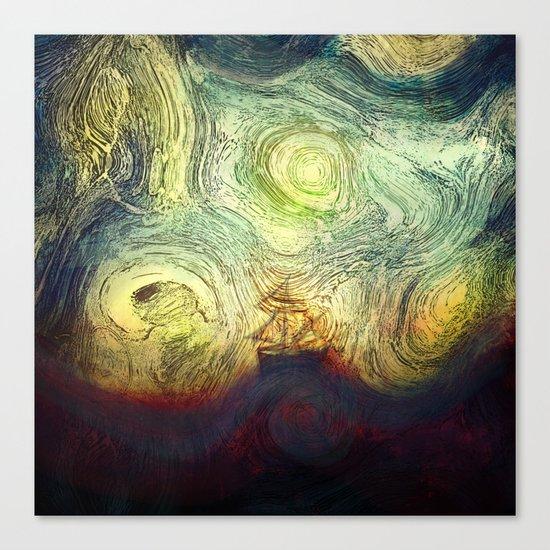 Starry sailing Canvas Print