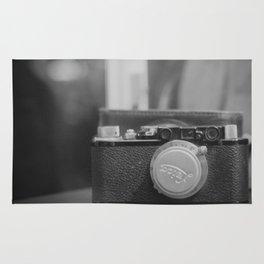 Vintage Leica Camera Rug