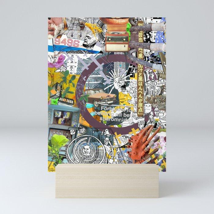 Pop UP - THREE Mini Art Print
