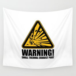 Obvious Explosion Hazard Wall Tapestry