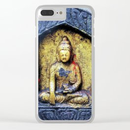 Gilded Buddha Clear iPhone Case