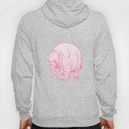 Pink Elephant Hoody