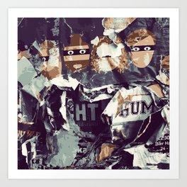 Bandits Art Print
