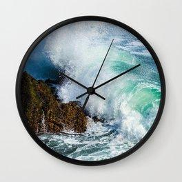 Stone waves Wall Clock